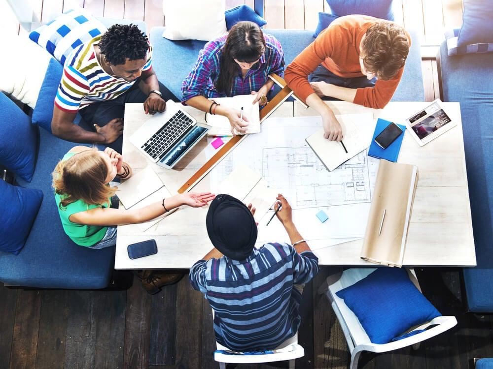 equipe de planejamento estratéico de marketing