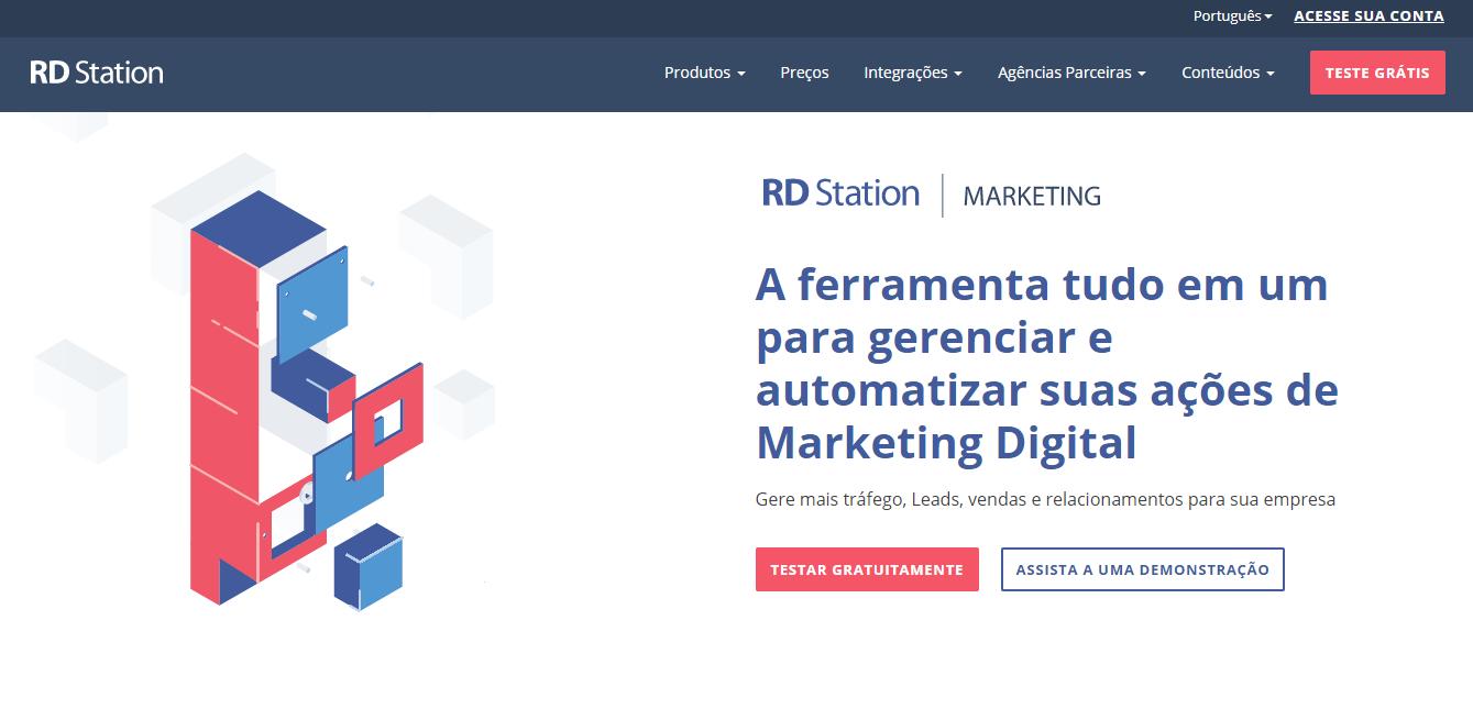 feramenta de email marketing RD Station