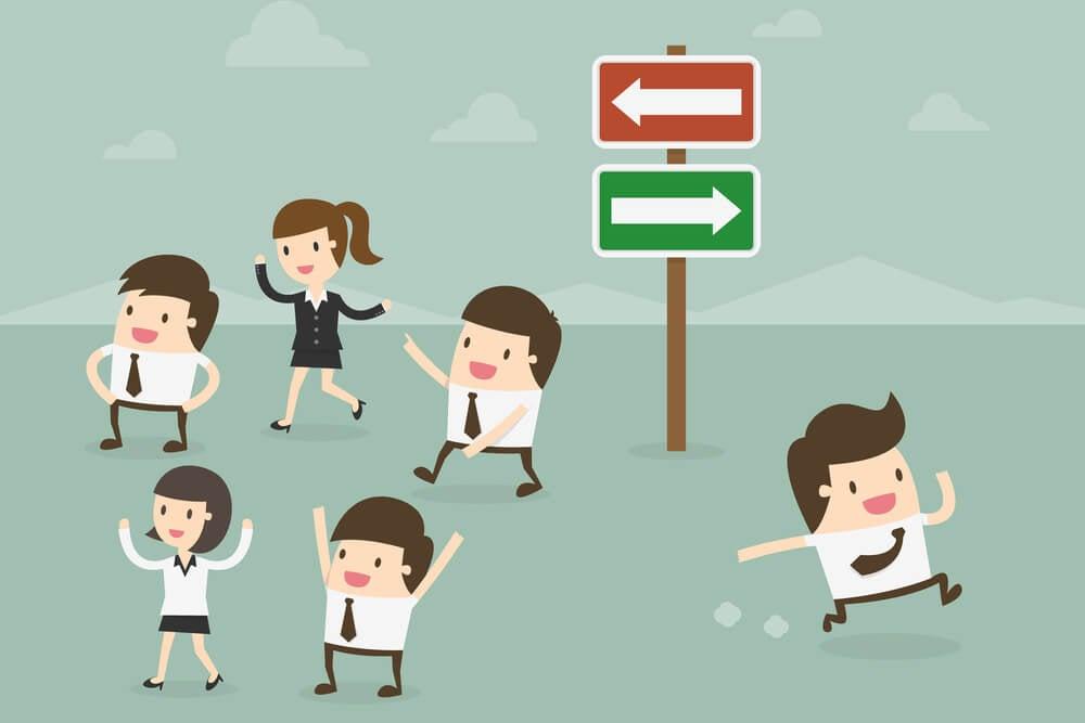 ilustração sobre importancia da cultura organizacional para a empresa e seus colabradores