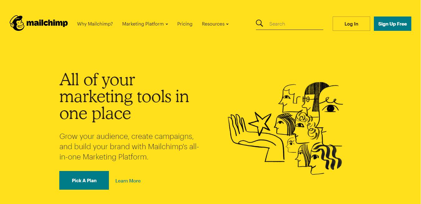 MailChimp como exemplo de ferramenta para email marketing
