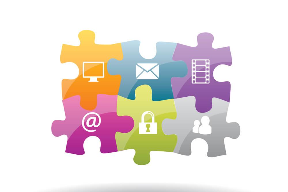 peças da comunicação integrada
