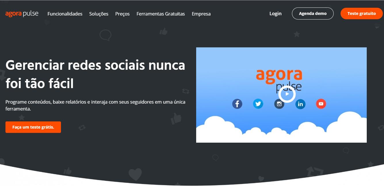 plataforma agorapulse para automaçao de postagens no instagram