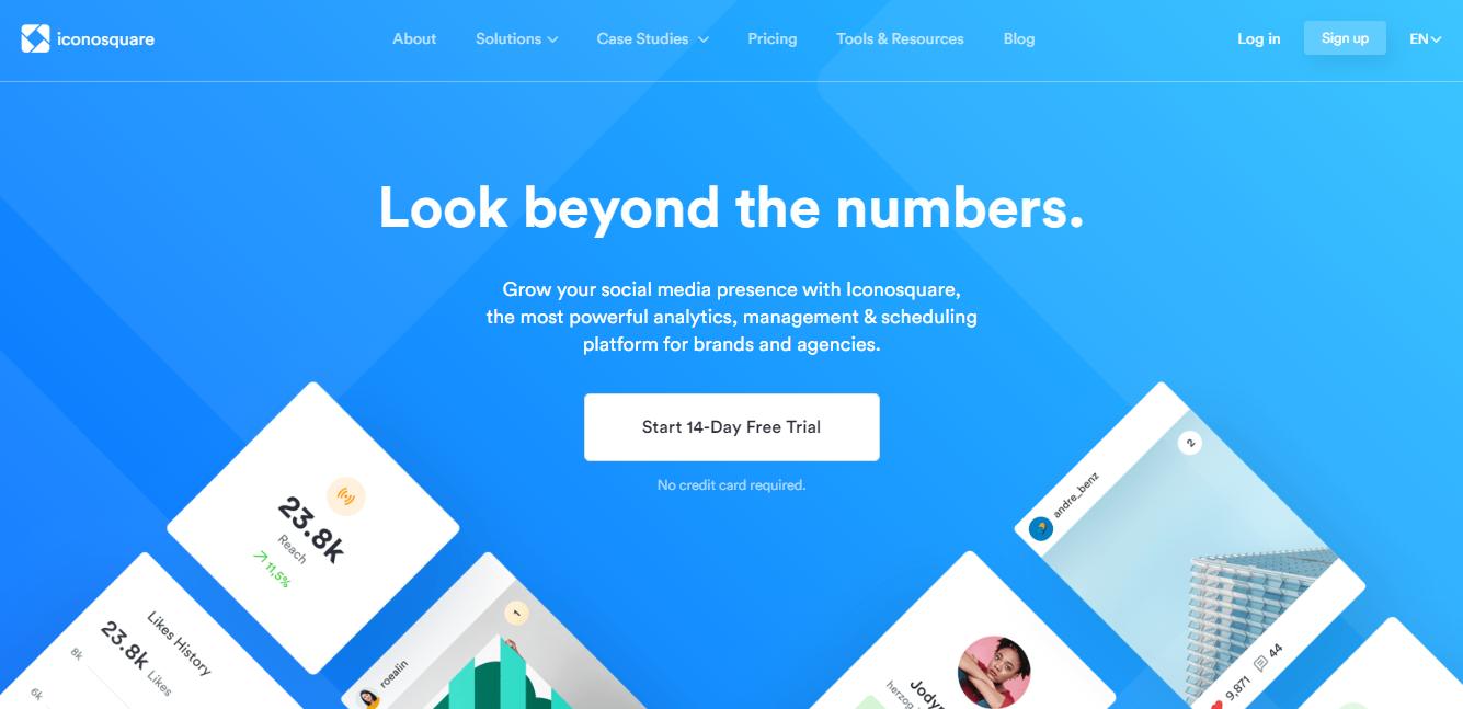 plataforma iconosquare para automaçao de analise e monitoramento no instagram