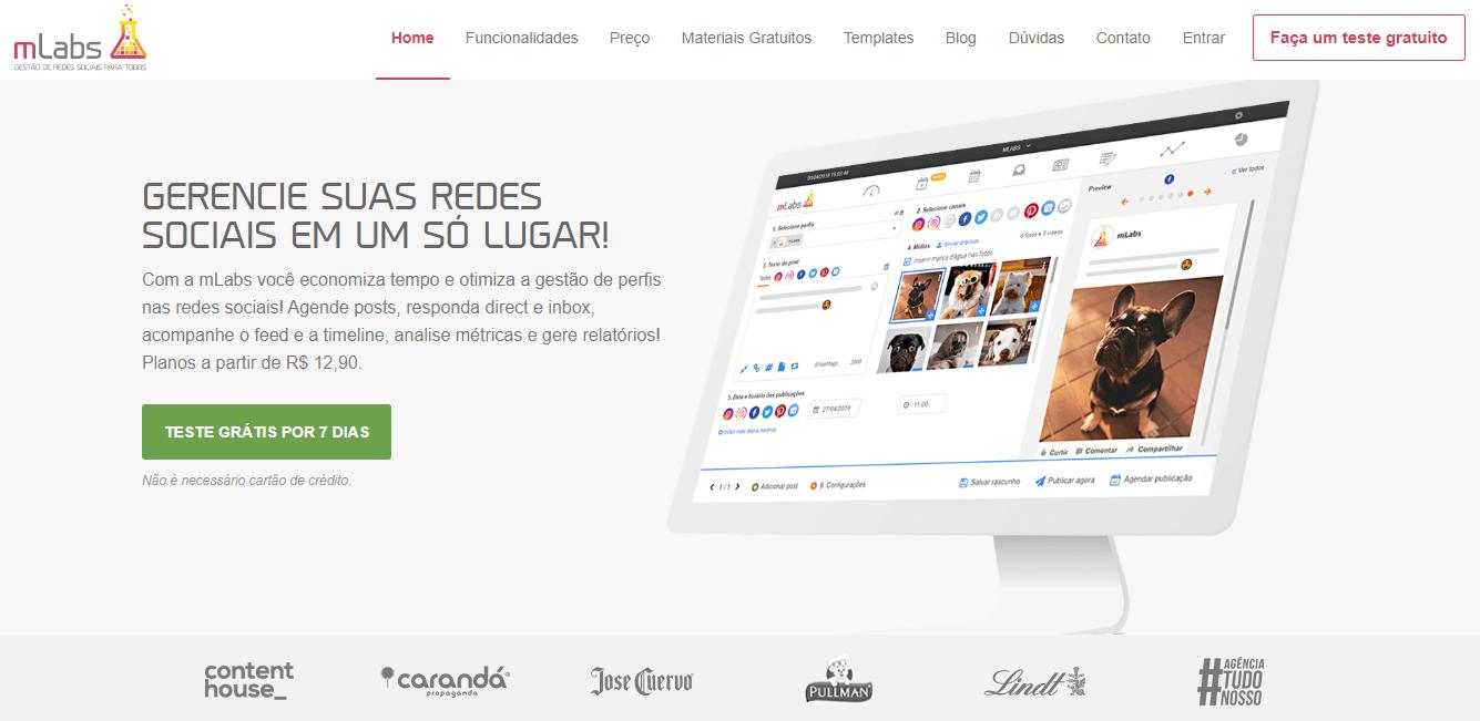 plataforma mLabs para automaçao de postagens no instagram
