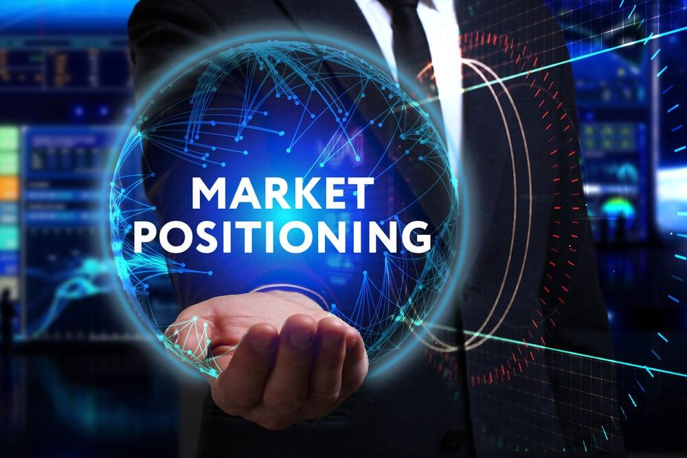 profissional e título posicionamento de mercado