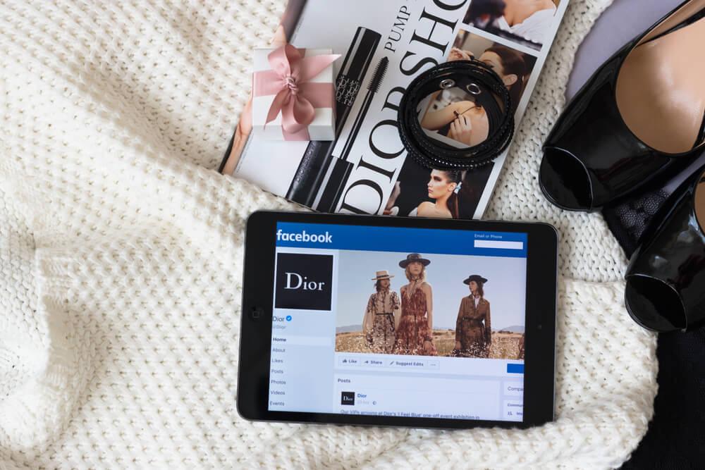 sorteios de marcas em páginas do facebook