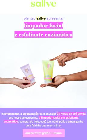 Campanha da Sallve como exemplo de anúncio persuasivo