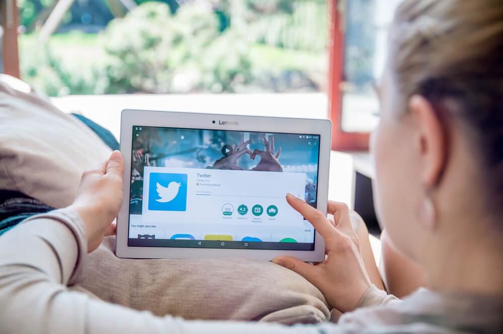 funções do twitter