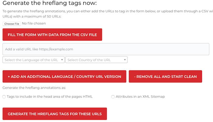 hreflang free SEO tool