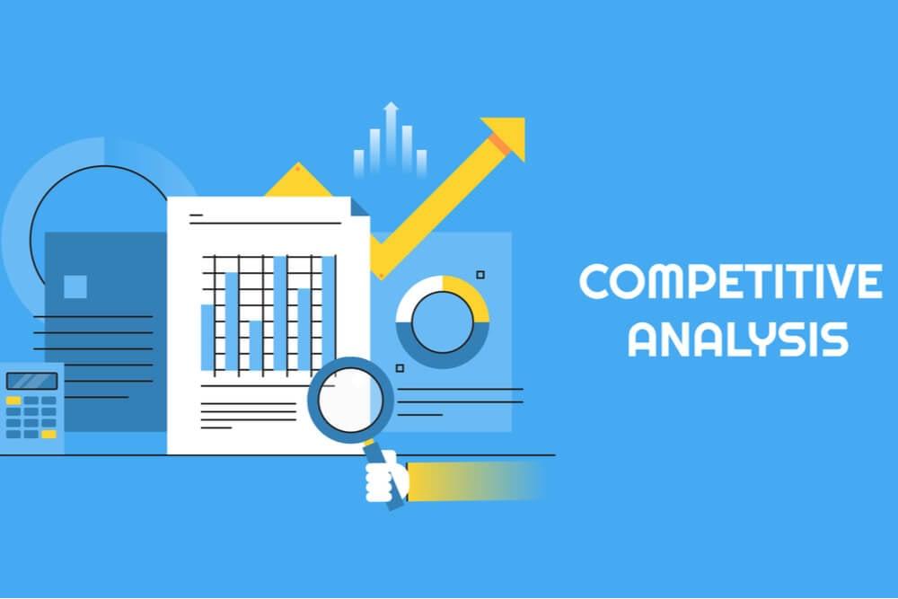 ilustração sobre análise de concorrência