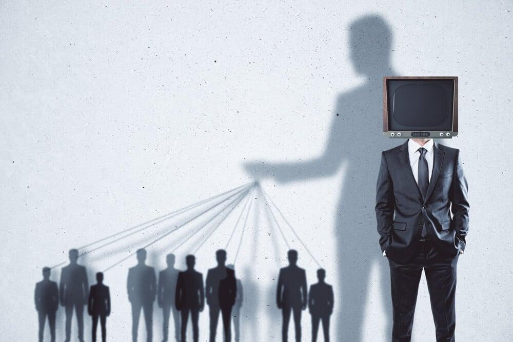 representação de persuasão em anúncios midiáticos