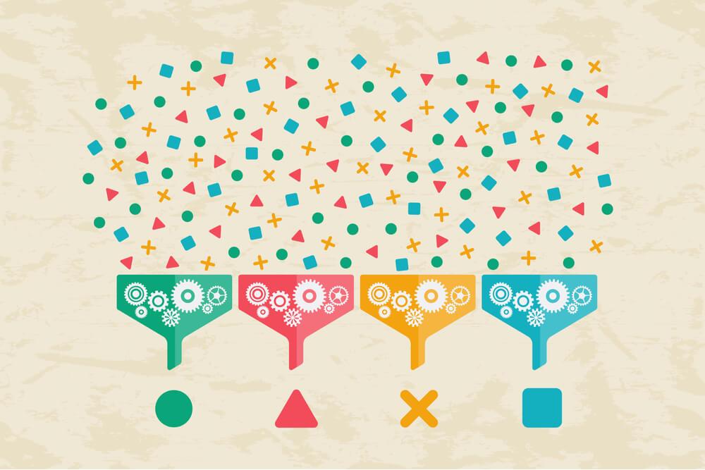 simbolos sobre coelta de dados