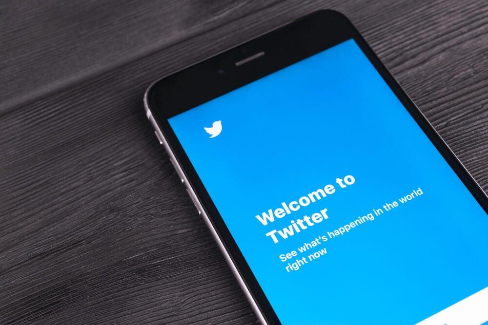 utilização do twitter