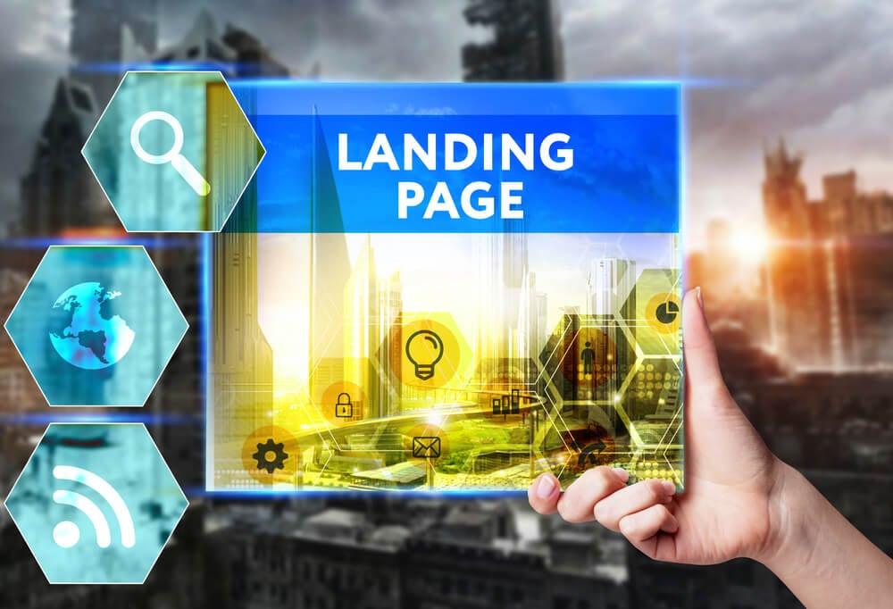 a relação de langing pages e squeeze pages