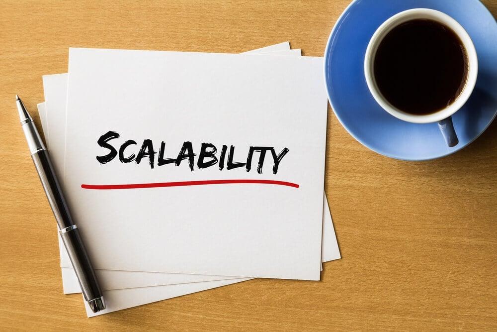 anotação da palavra escalabilidade