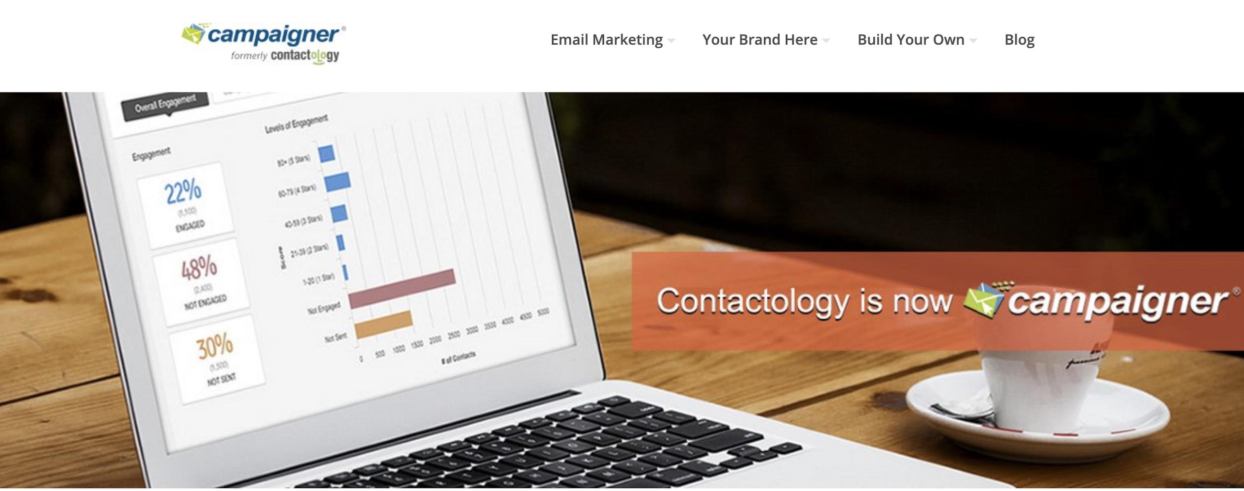 Cotactology como exemplo de ferramenta grátis de email marketing