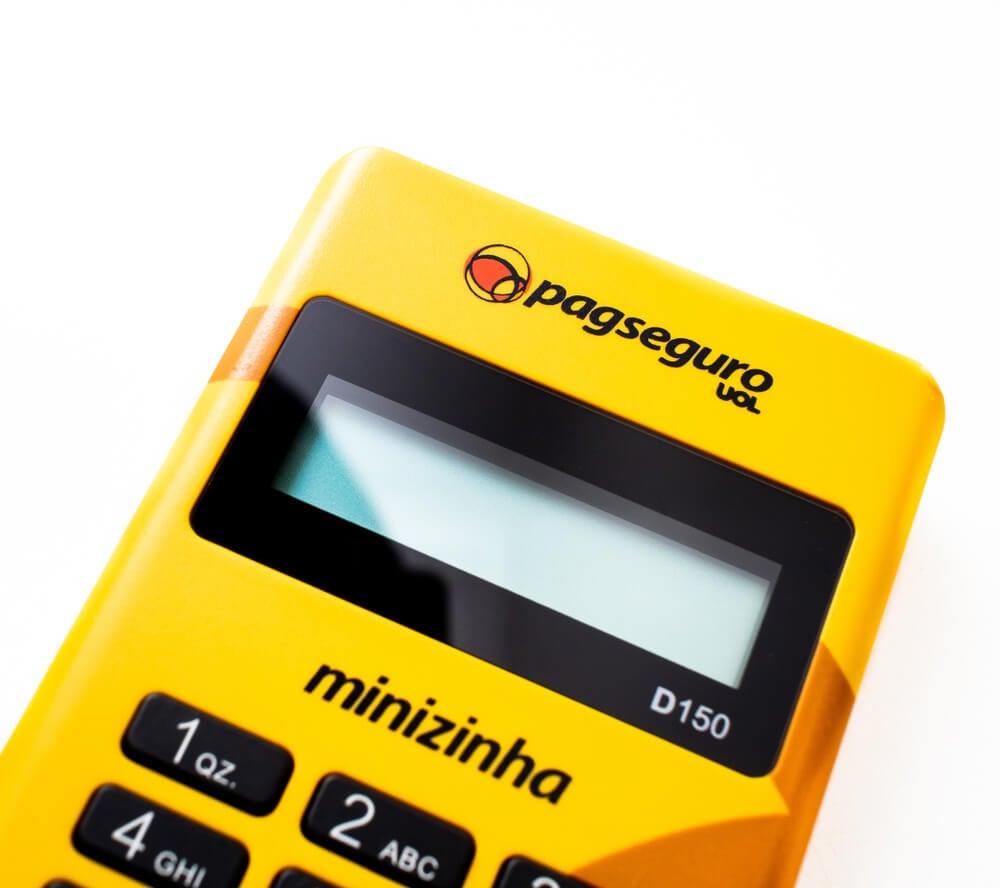 equipamento minizinha do Pagseuro