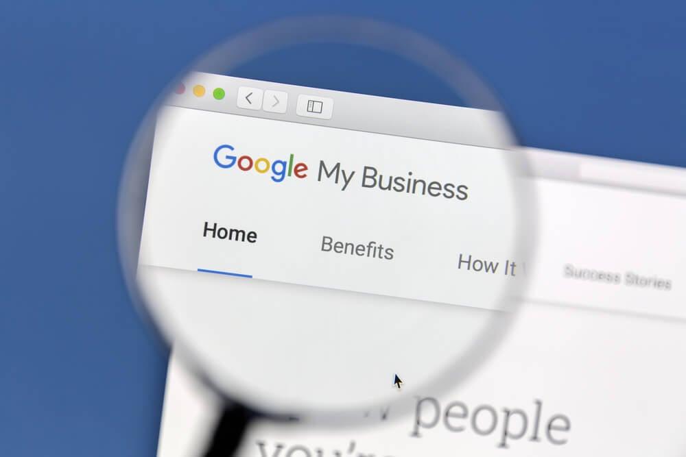 google my business como exemplo de opção de ferramenta para anúncio de site no google