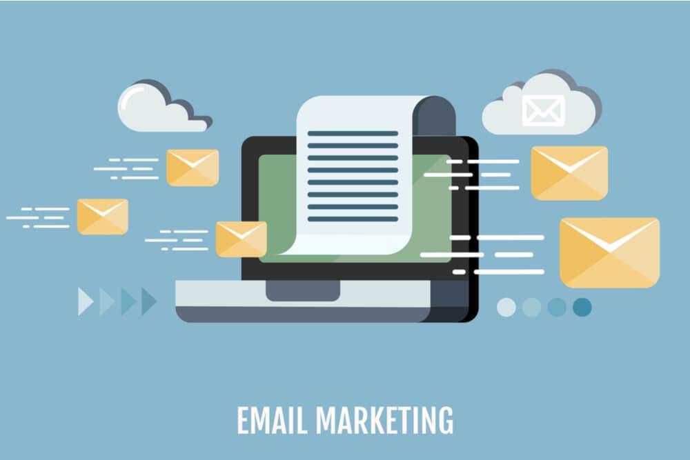 ilustração sobre ferramentas de email marketing