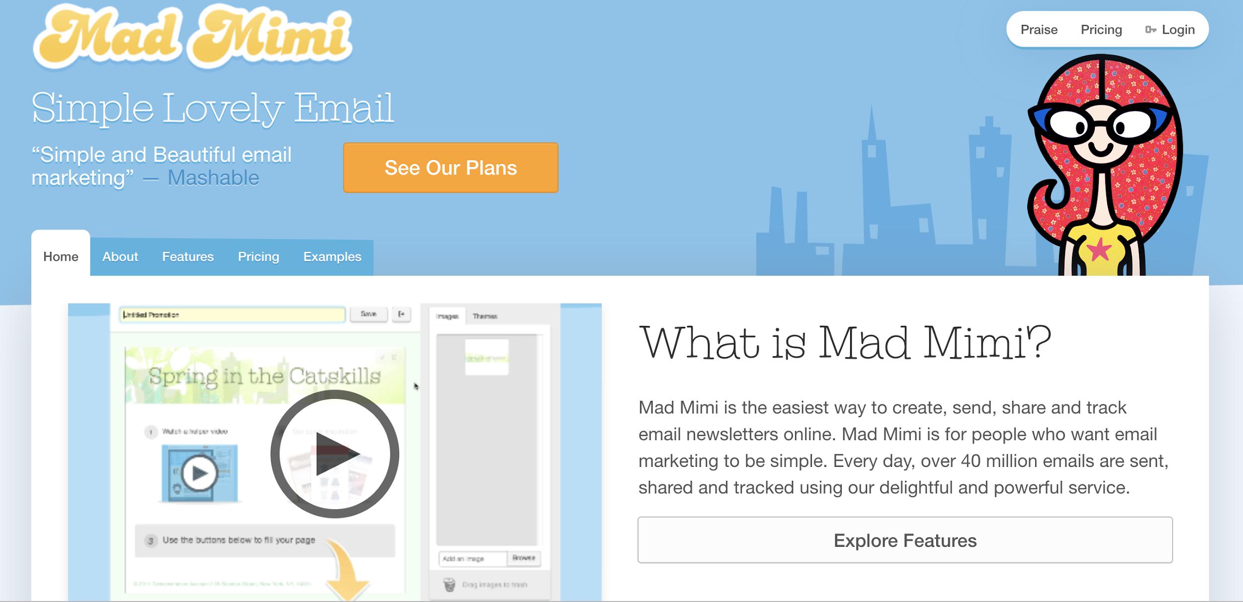 Mad Mimi como exemplo de ferramenta grátis de email marketing