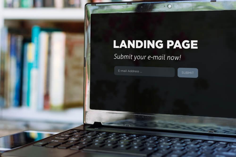 objetivos em comum com a landing page