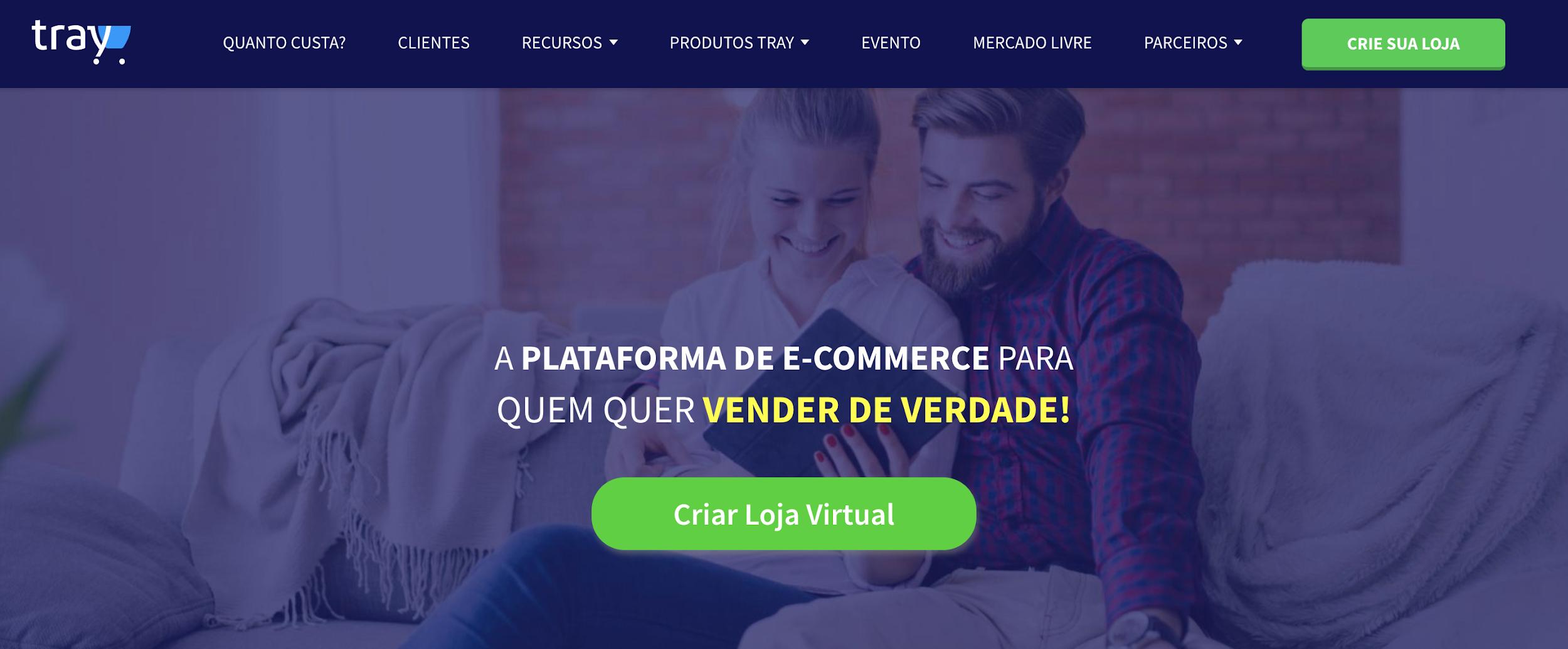 Tray como exemplo de plataforma de ecommerce