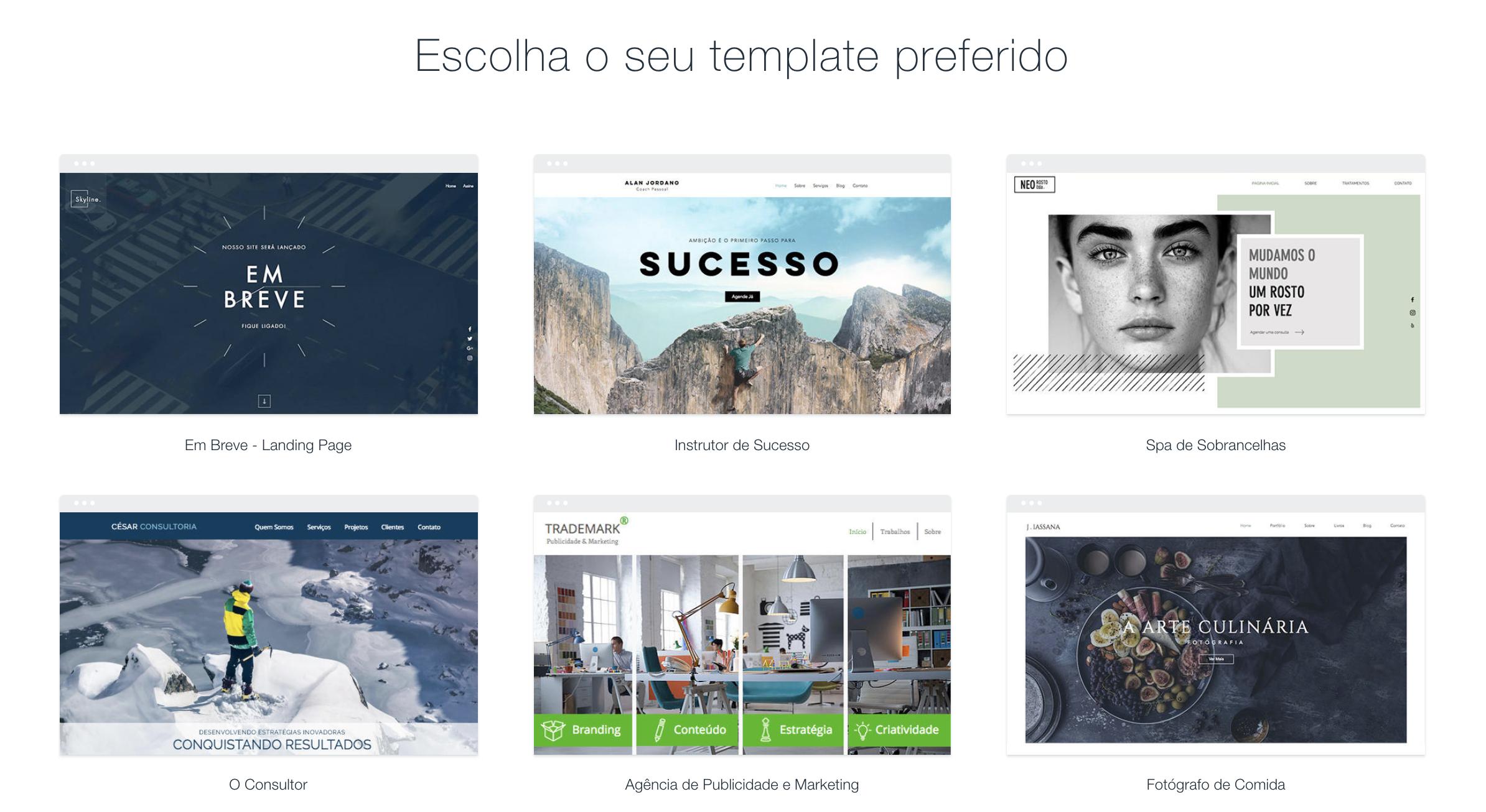 wix como exemplo de plataforma ecommerce