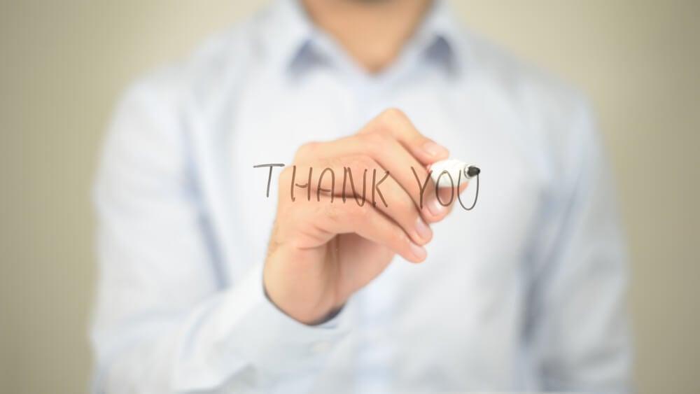 ferramentas para mensagens de agradecimento