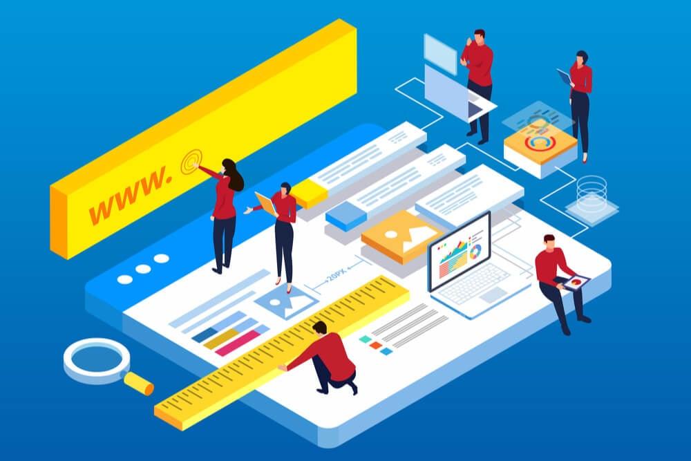 ilustração relacionada a acessibilidade na web