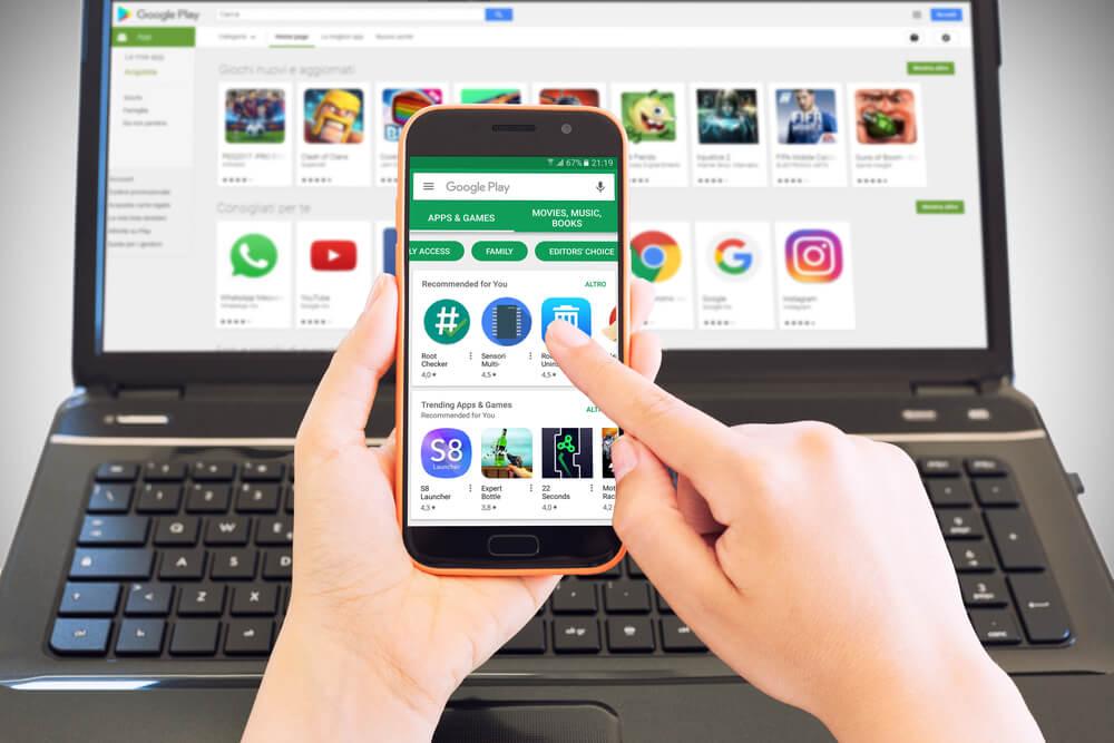 principais serviçõs e funcionalidaes dos aplicativos google