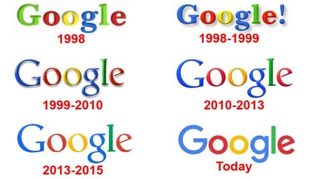 rebranding evolutivo do google