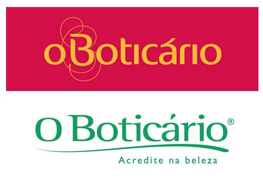 rebranding parcial da empresa O Boticário