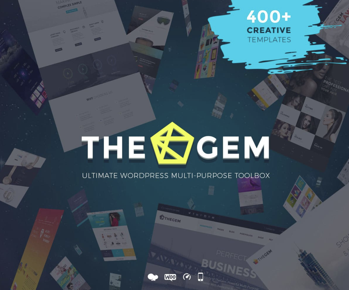 Template The Gem para wordpress premium