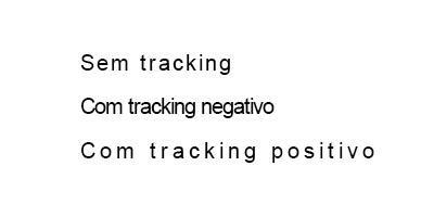 tracking em fontes