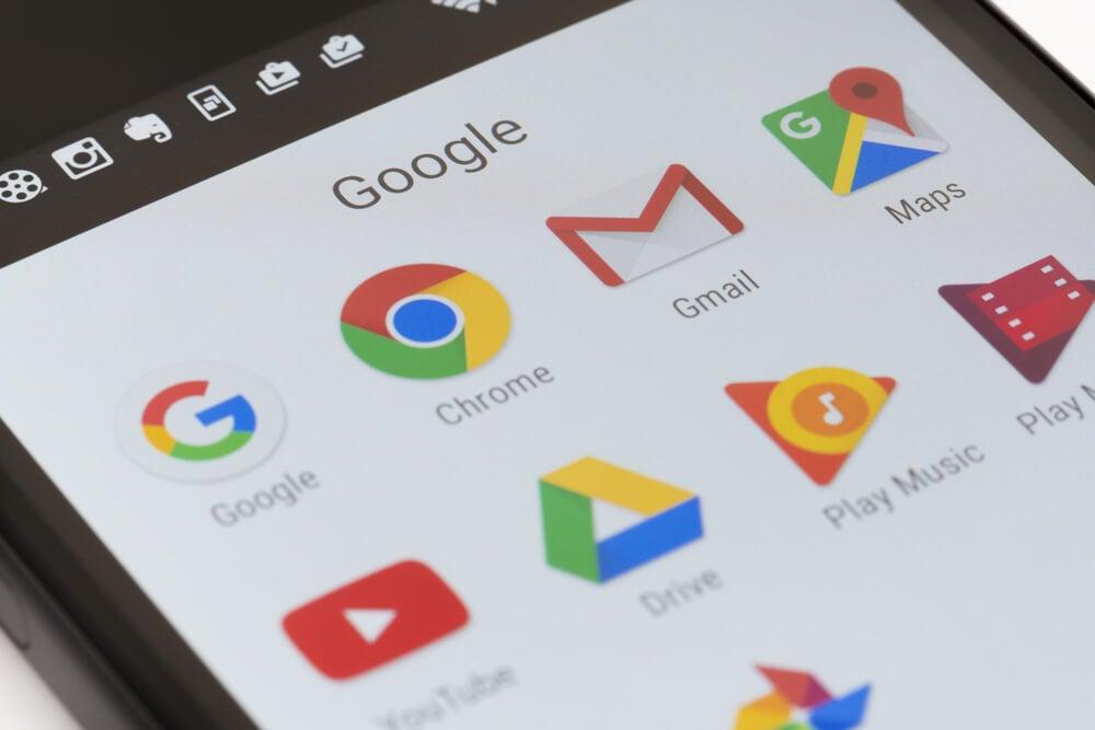 uso de aplicativos do google na sua empresa