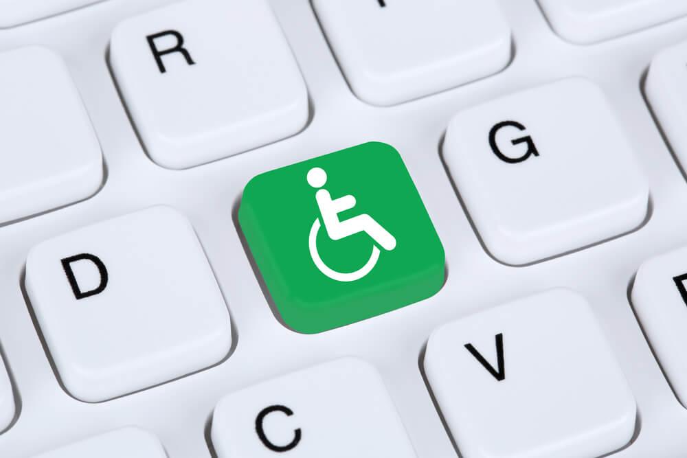 web acessivel para deficientes físicos