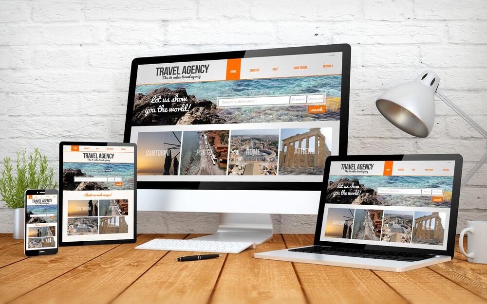 layout responsivo para web