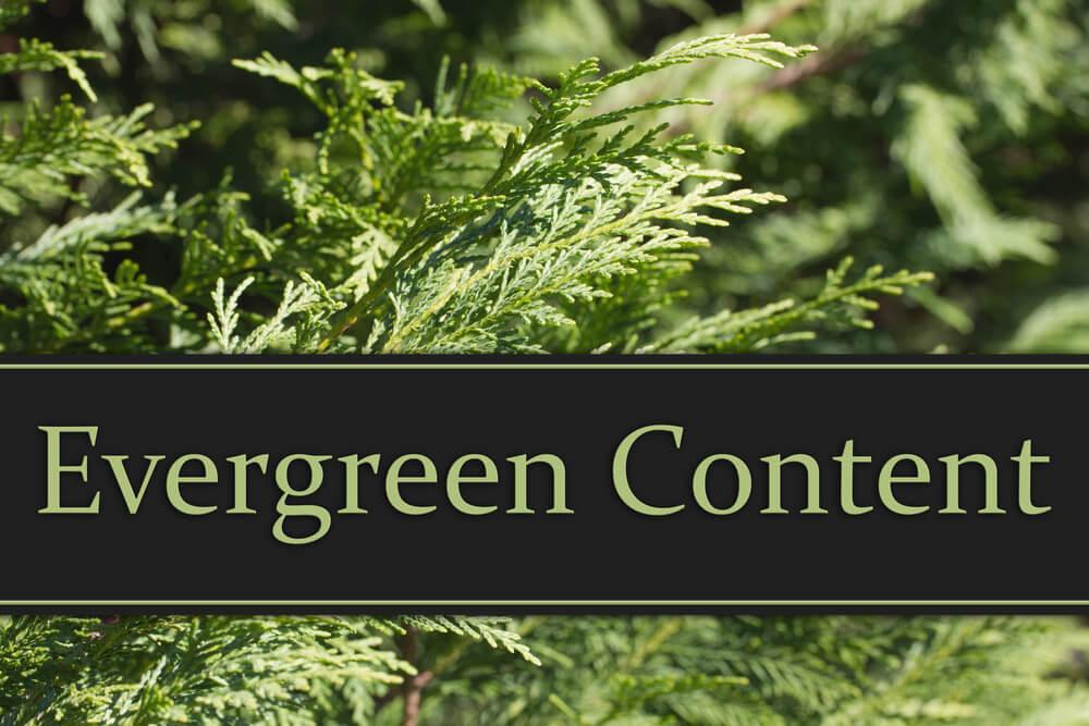 o que é conteudo evergreen e dicas de criação