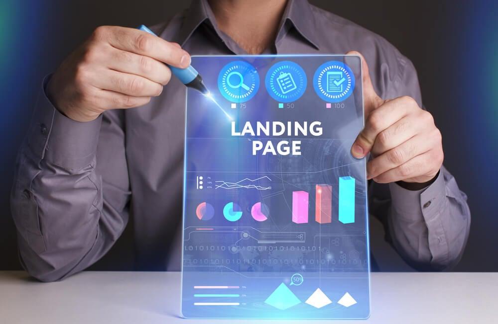 custos de uma landing page