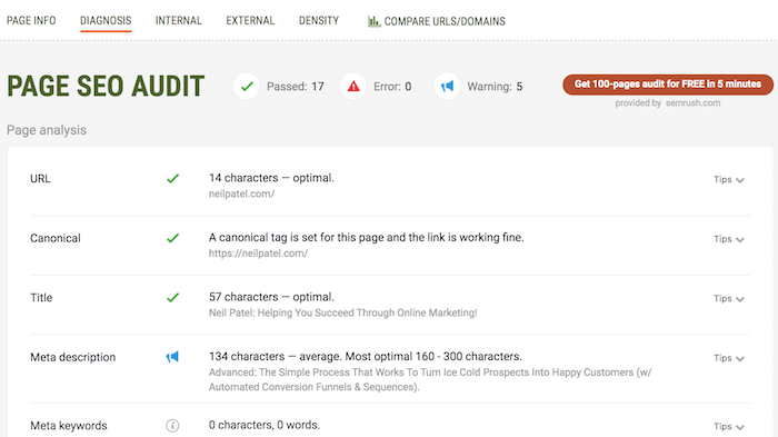 13 Amazing Free Chrome Extensions For SEO 22
