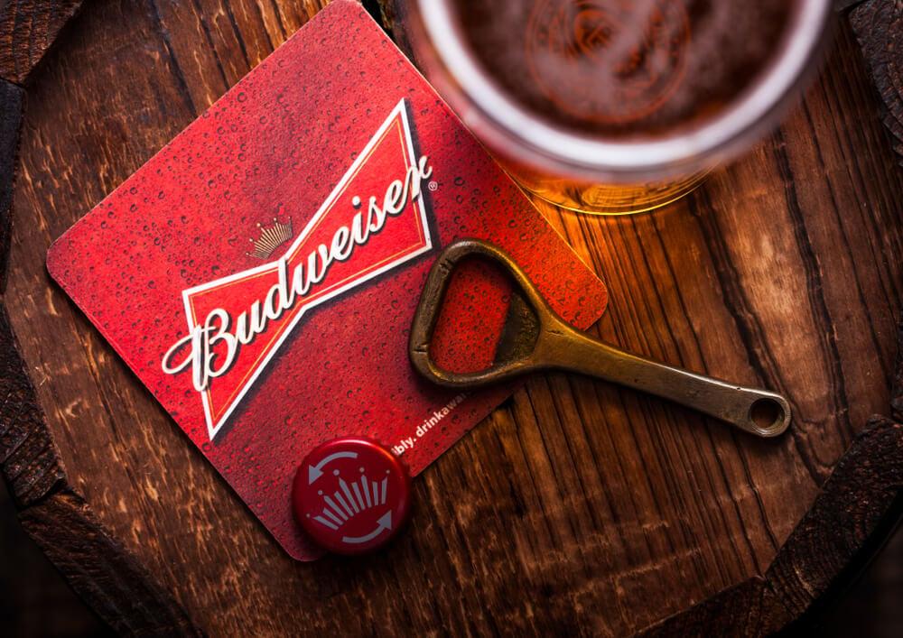 budweiser como exemplo referência em campanhas publicitárias