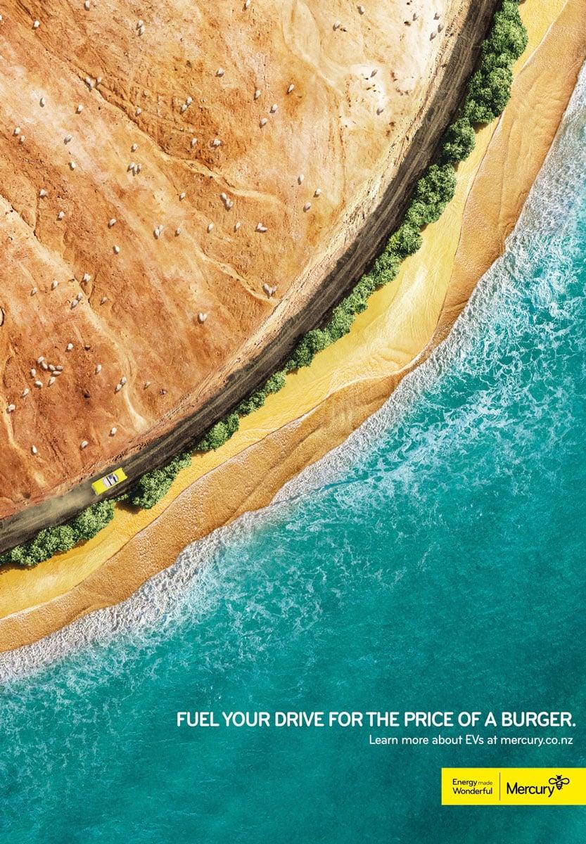 mercury energy campanha publicitária