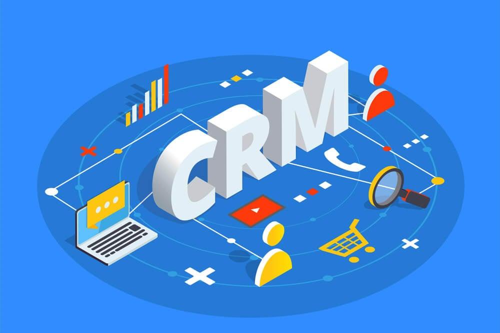 ilustração de título CRM