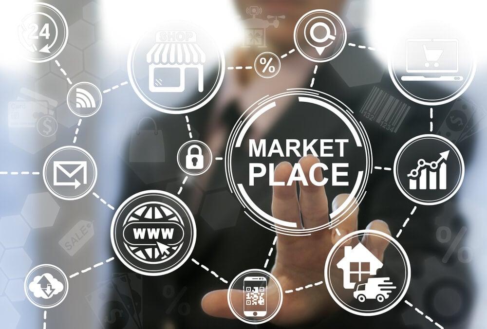 Marketplace como começou no brasil