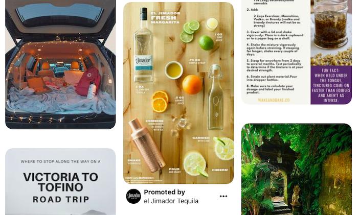 Gepromote pinnen in Pinterest voor e-commerce