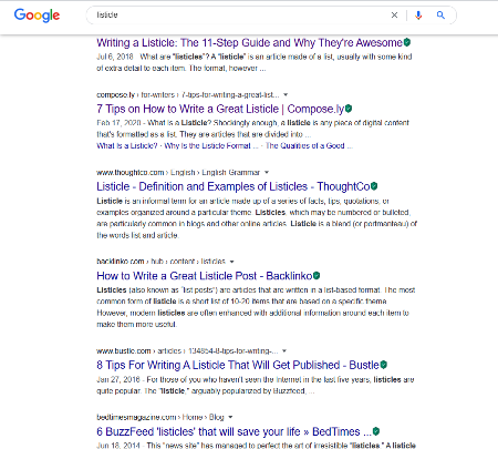 Listicle Content How to Write Them The 6 step Guide 1