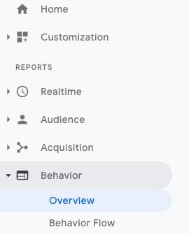 Google Analytics, um veraltete Inhalte zu finden