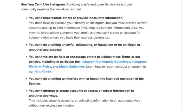 Durch gekaufte Follower riskierst du die Schließung deines Instagram-Kontos!