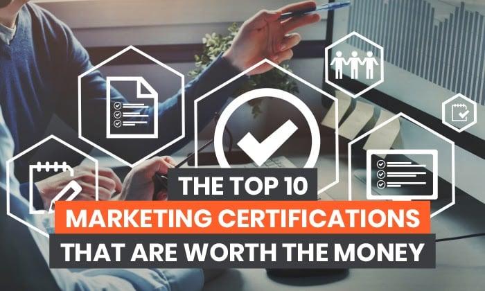 10 Sertifikasi Pemasaran Teratas yang Sepadan dengan Uang