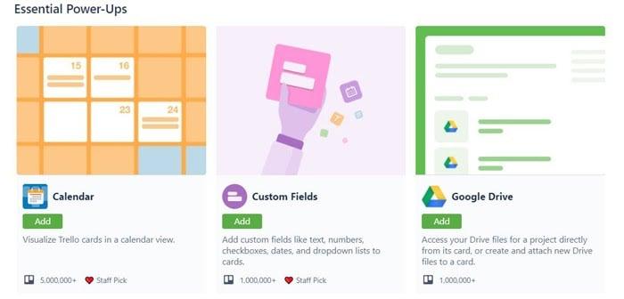 using trello to build a marketing calendar options